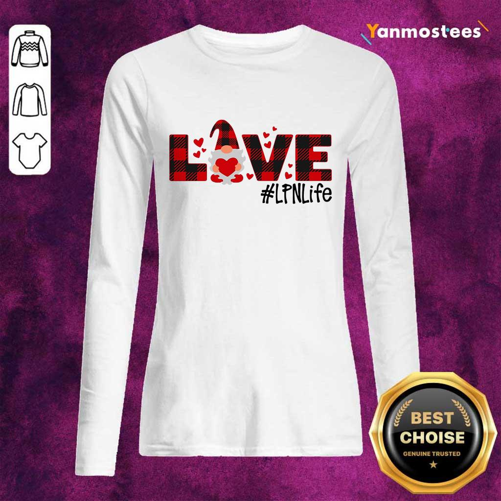 Great Gnome Love Valentine #LPN Life 246 Long-Sleeved