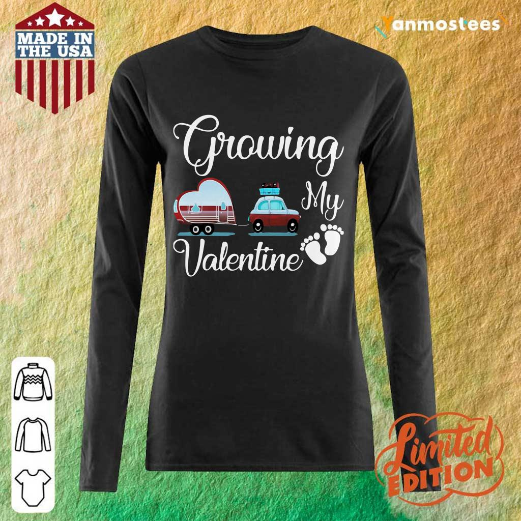 Great Growing My Valentine Ambulance Heart 032 Long-Sleeved