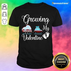 Great Growing My Valentine Ambulance Heart 032 Shirt