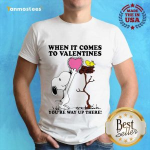 Great Snoopy And Woodstock Comes To Valentines 1 Shirt