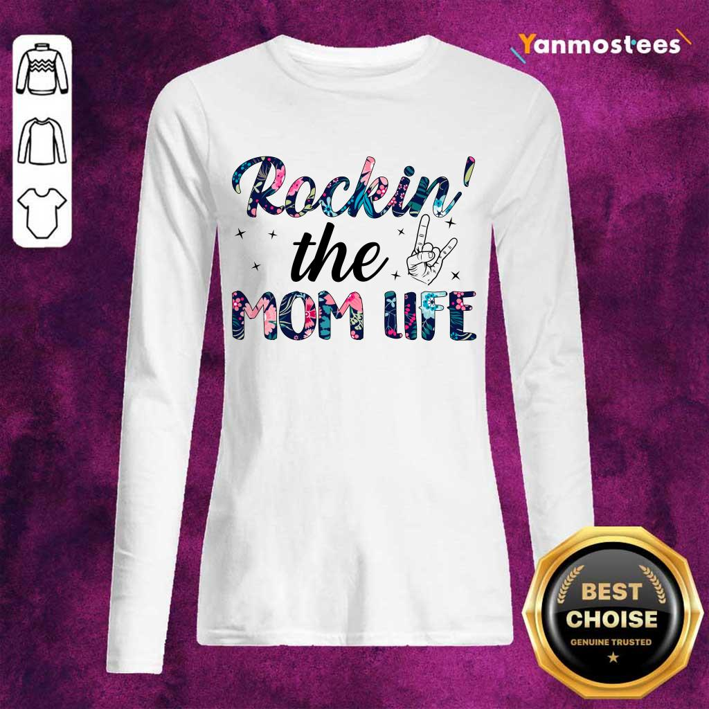 Amused 1 The Mom Life Long-Sleeved