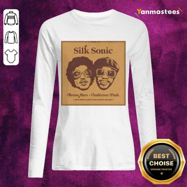 Delighted 2 Silk Sonic Long-Sleeved