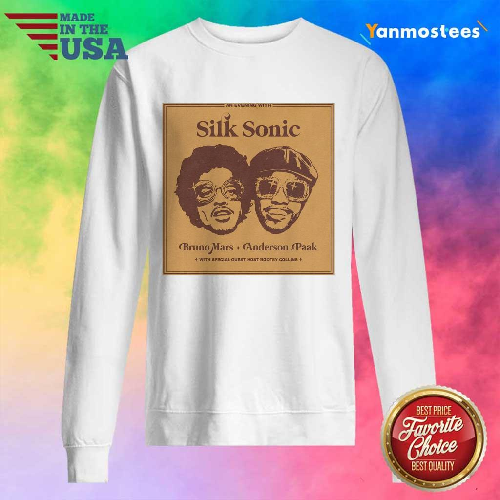 Delighted 2 Silk Sonic Sweater