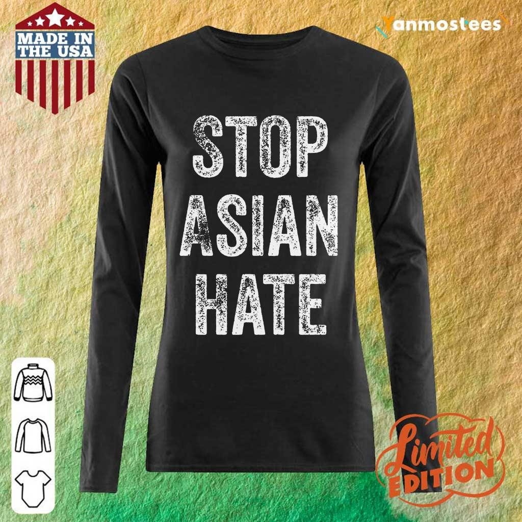 Ecstatic Stop Asian Hate Long-Sleeved