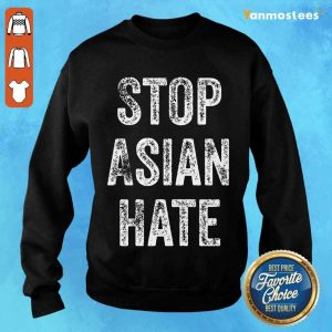 Ecstatic Stop Asian Hate Sweater