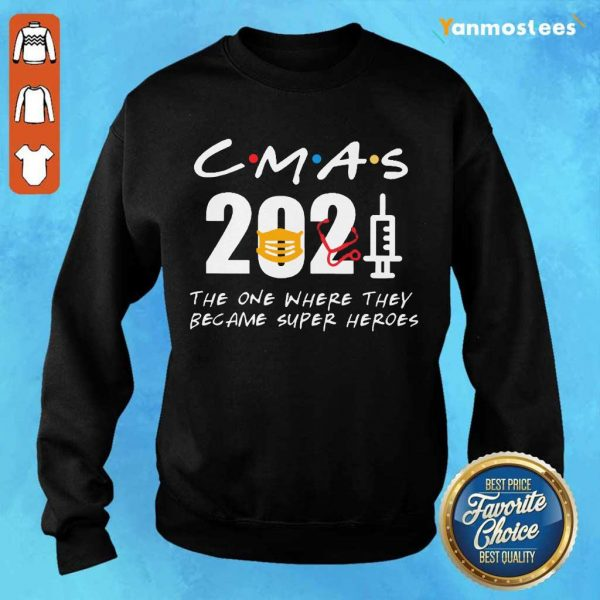 Enthusiastic CMAs 2021 SuperHeroes Sweater