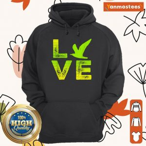 Excited I Love Seagulls Birds 2 Hoodie