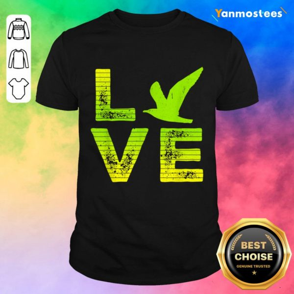 Excited I Love Seagulls Birds 2 Shirt