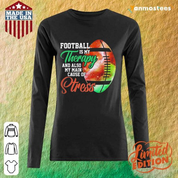 Football Is My Therapy Great 1 Long-Sleeved