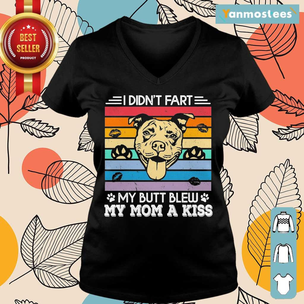 Funny My Butt Blew My Mom A Kiss 1 Ladies Tee