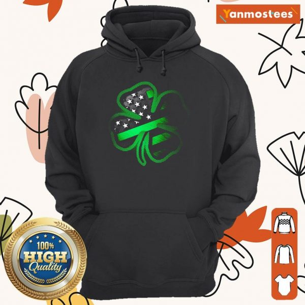 Great 1 Firefighter St Patricks Day Hoodie