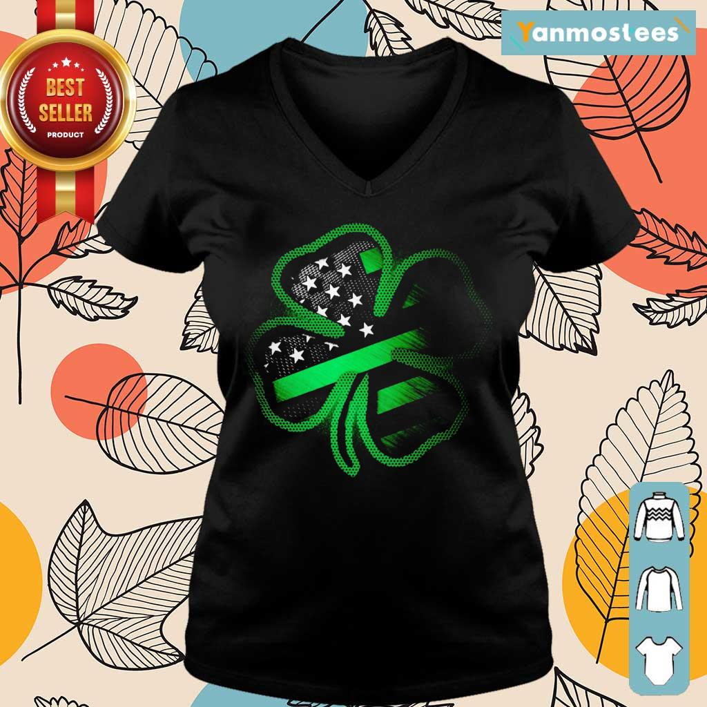 Great 1 Firefighter St Patricks Day Ladies Tee