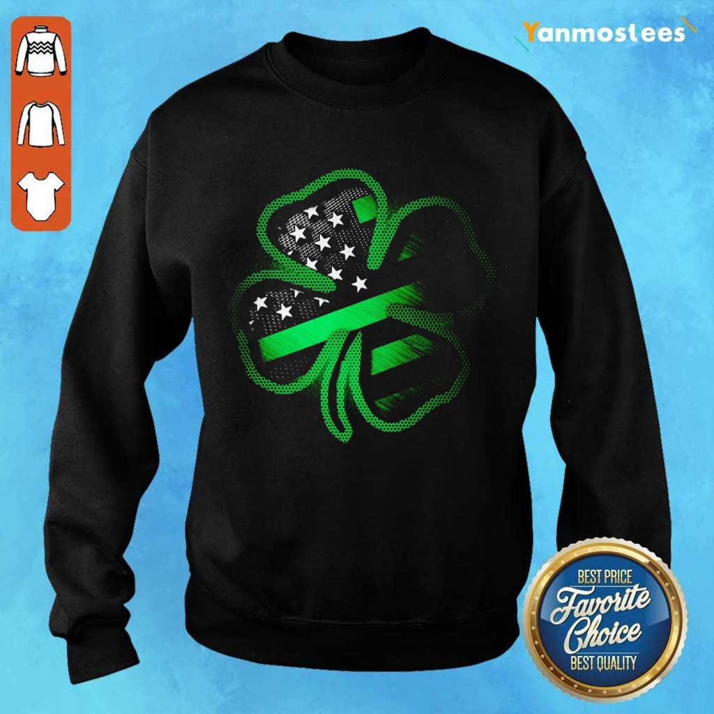 Great 1 Firefighter St Patricks Day Sweater