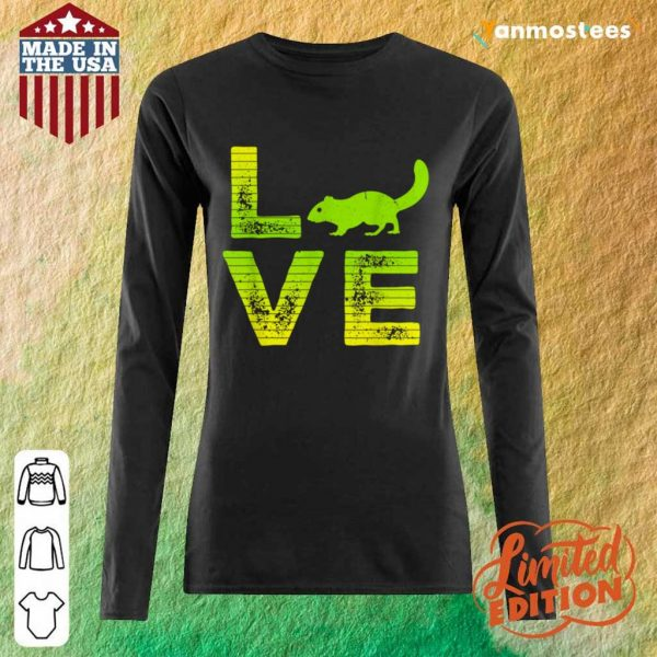 Great 1 Love Squirrels Long-Sleeved