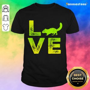 Great 1 Love Squirrels Shirt