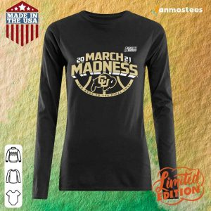 Great Colorado Buffaloes 2021 March Long-Sleeved