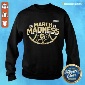 Great Colorado Buffaloes 2021 March Sweater