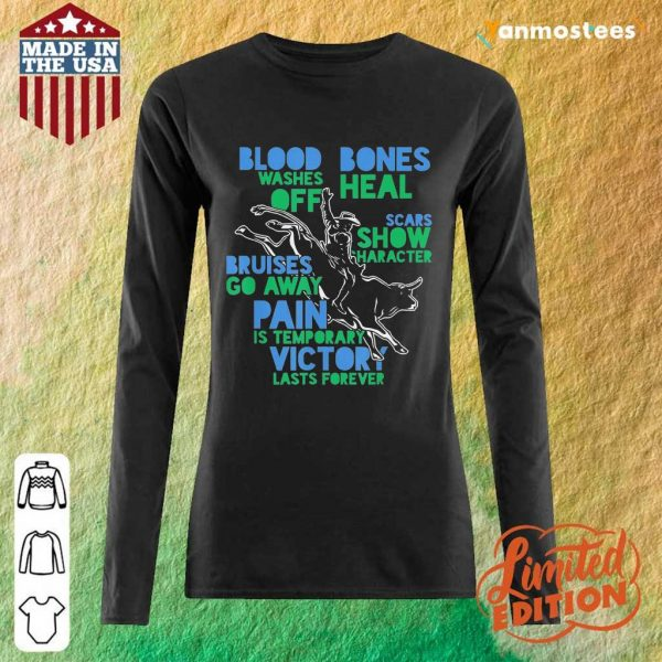 Great Cowboy Country Ranch Bull Rider 2021 Long-Sleeved