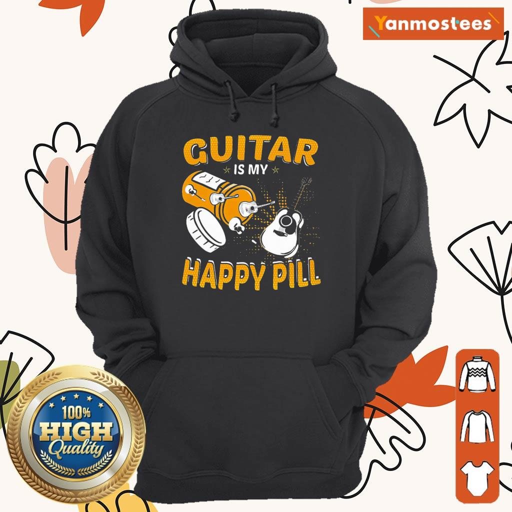 Great Guitar My Happy Pill 2021 Hoodie