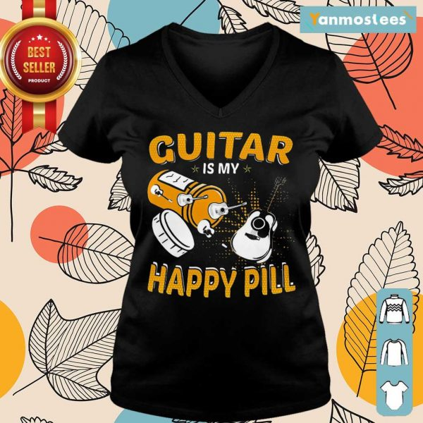 Great Guitar My Happy Pill 2021 Ladies Tee