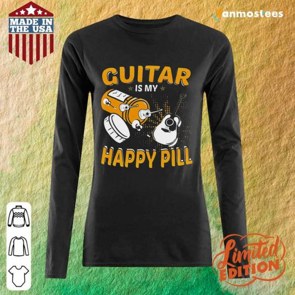 Great Guitar My Happy Pill 2021 Long-Sleeved
