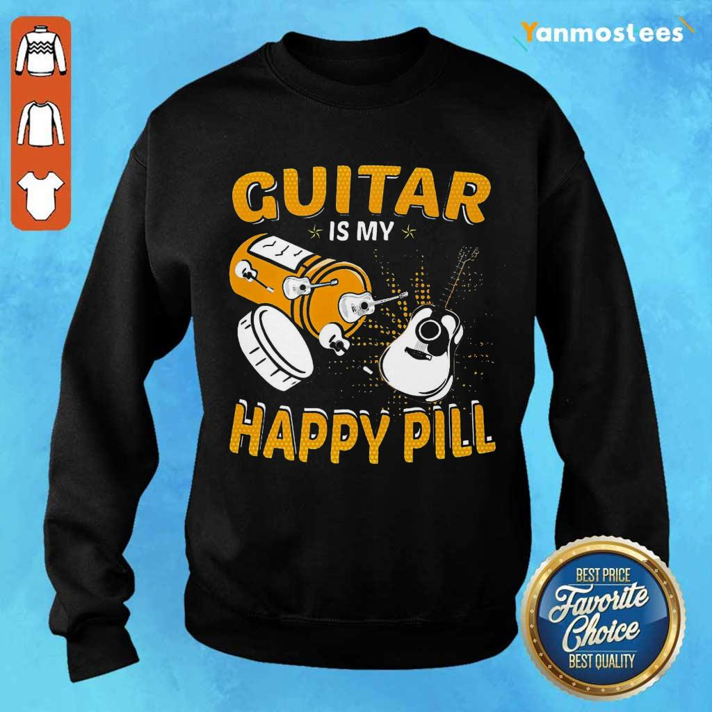 Great Guitar My Happy Pill 2021 Sweater