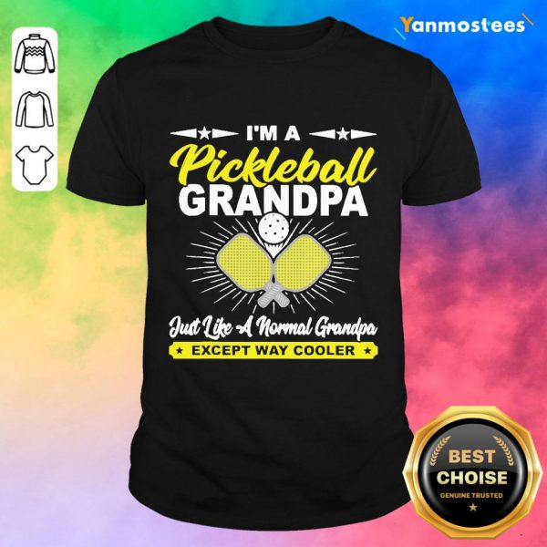 Happy Pickleball Grandpa Grandpa Shirt