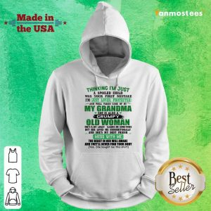 Over The Moon Grandma Women 2021 Hoodie