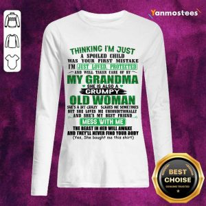 Over The Moon Grandma Women 2021 Long-Sleeved