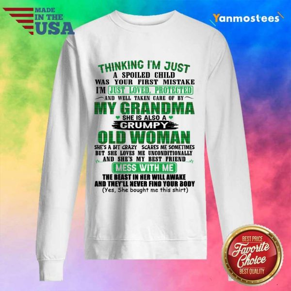 Over The Moon Grandma Women 2021 Sweater