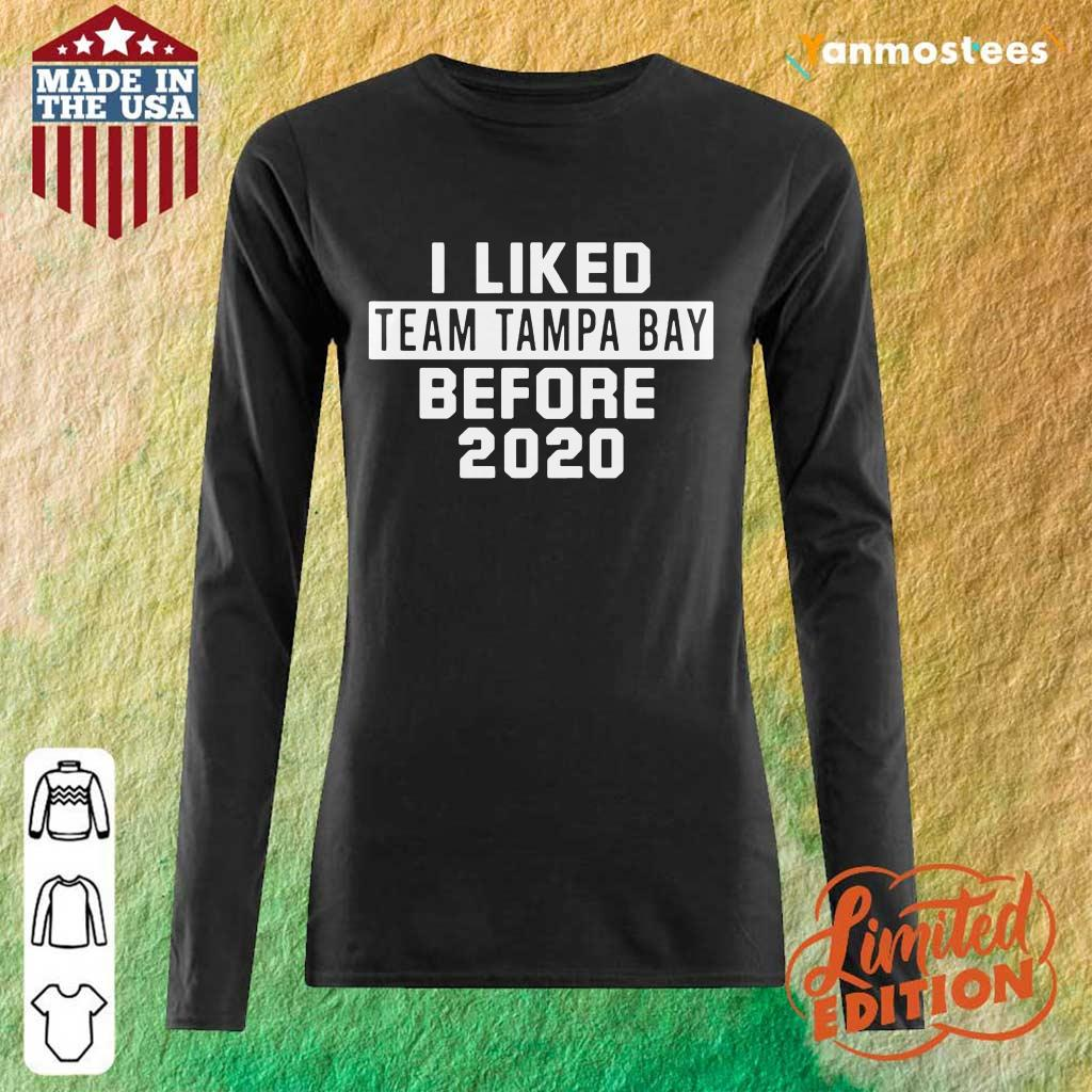 Over The Moon Team Tampa Bay 2021 Long-Sleeved
