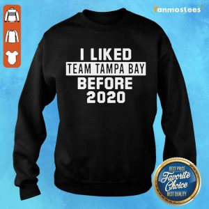 Over The Moon Team Tampa Bay 2021 Sweater