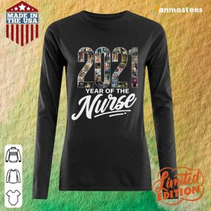Overjoyed 2021 Years Of The Nurse Long-Sleeved