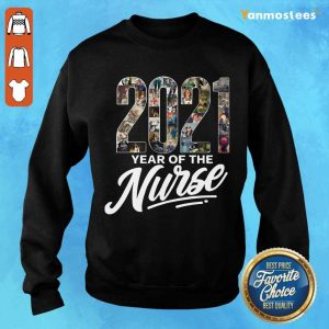 Overjoyed 2021 Years Of The Nurse Sweater