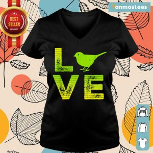 Overjoyed 6 I Love Sparrows Ladies Tee