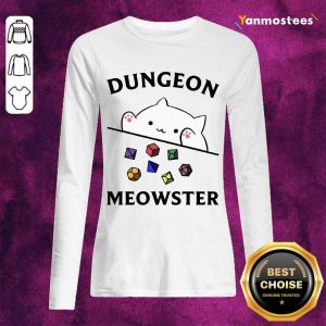 Overjoyed Dungeon Meowster 2021 Long-Sleeved