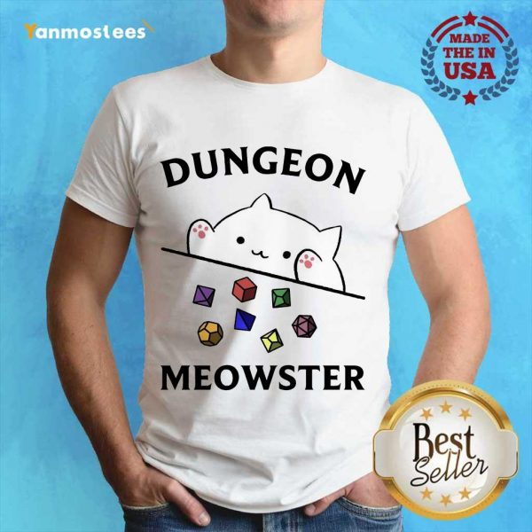 Overjoyed Dungeon Meowster 2021 Shirt
