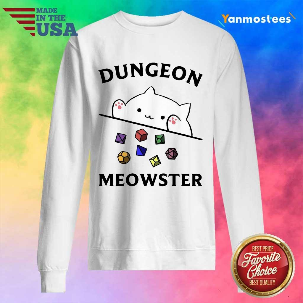 Overjoyed Dungeon Meowster 2021 Sweater