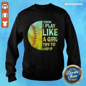 Positive Girls Softball Cloth 2021 Sweater