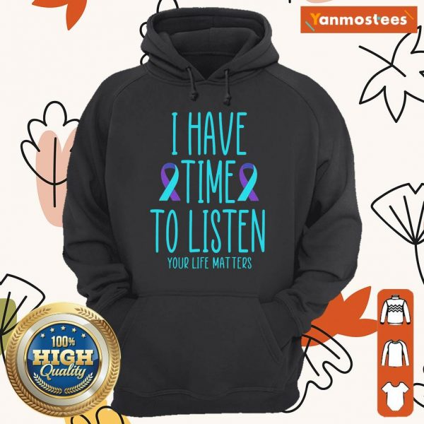 Positive Really To Listen Awareness 3 Hoodie
