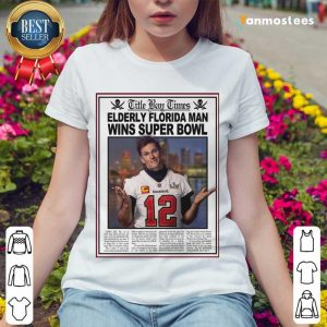Positive Tom Brady Florida 2021 Ladies Tee