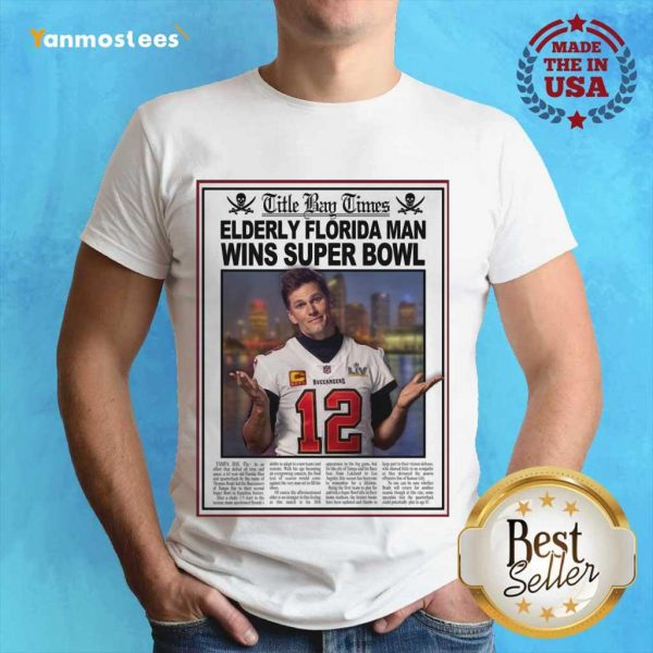 Positive Tom Brady Florida 2021 Shirt