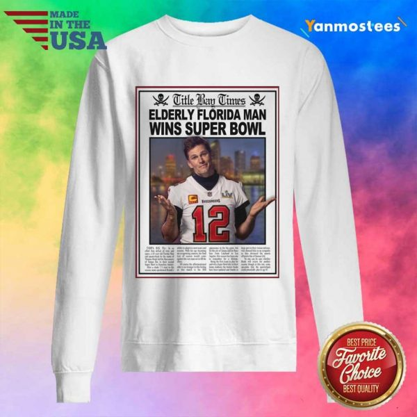 Positive Tom Brady Florida 2021 Sweater