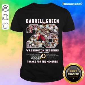 Relaxed Darrell Green Washington 2021 Shirt