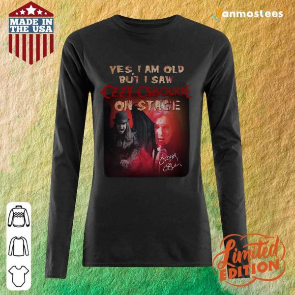 Relaxed Ozzy Osbourne Signature 2021 Long-Sleeved