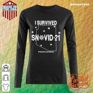 Relaxed Snovid 2021 Arizona Strong Long-Sleeved