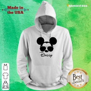 Surprised Disney Mickey Mouse Daddy Hoodie