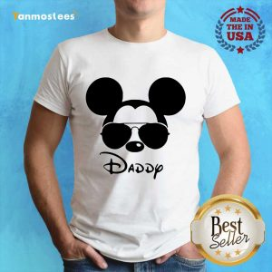 Surprised Disney Mickey Mouse Daddy Shirt
