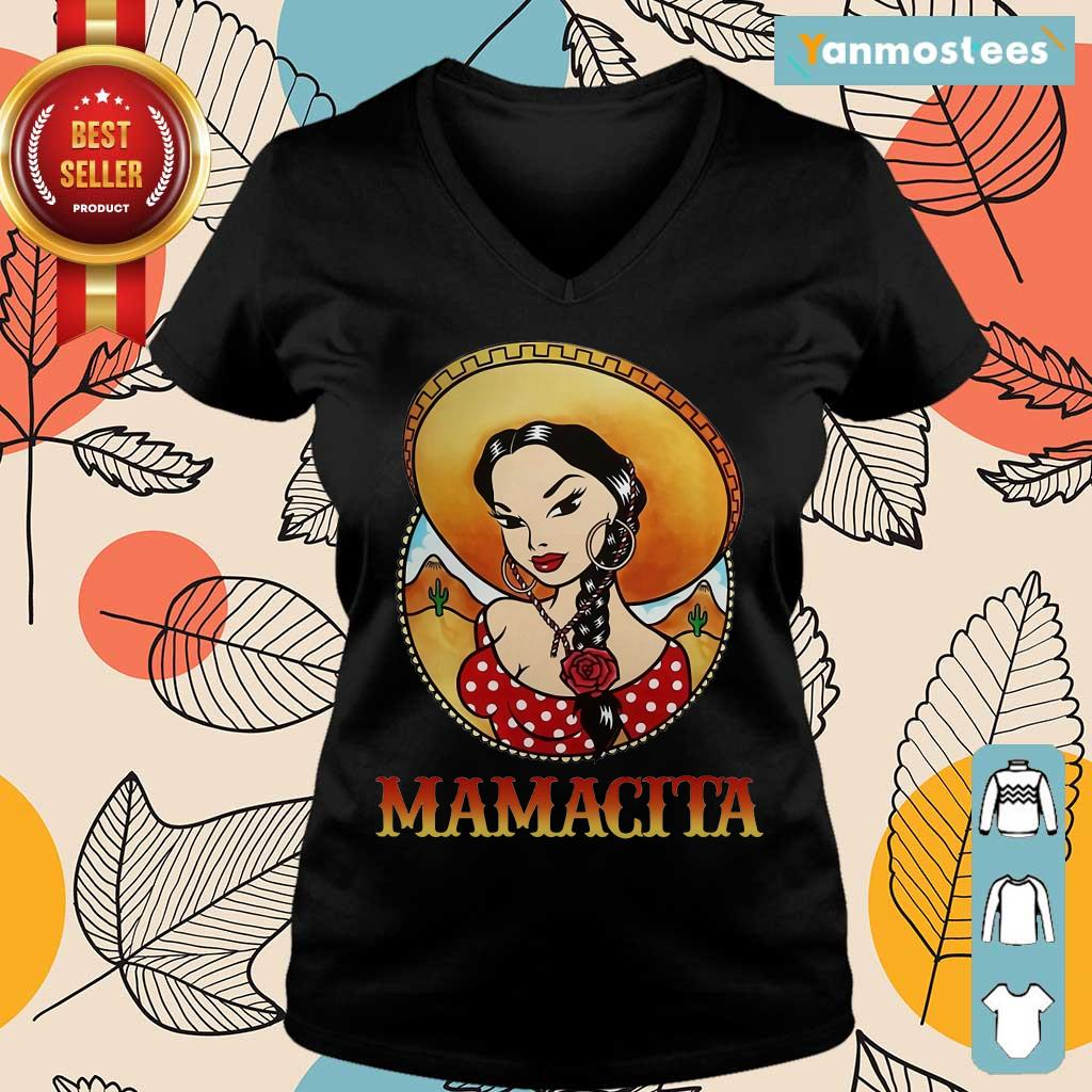 Happy Girl Mamacita Cinco De Mayo Ladies Tee