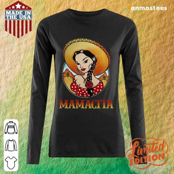 Happy Girl Mamacita Cinco De Mayo Long-Sleeved